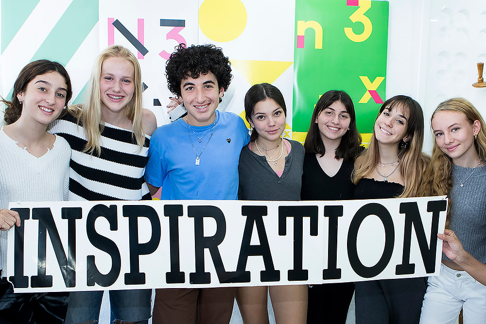 teenagers inspired to teach and make a difference