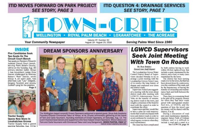 Dream Sponsors Town Crier Headlines