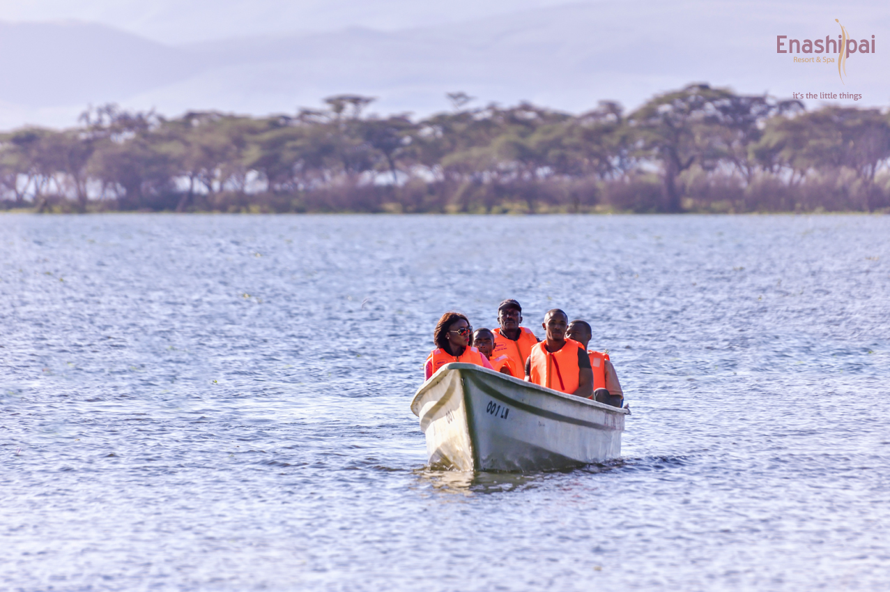 boating naivasha