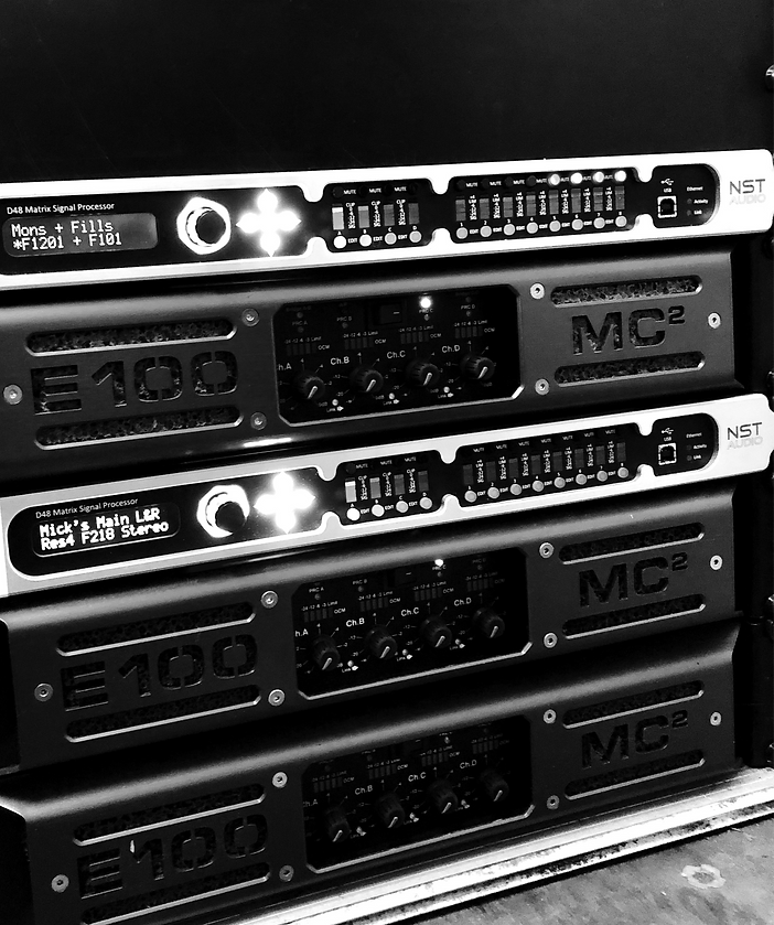 MC2 and MC2 Audio Rack