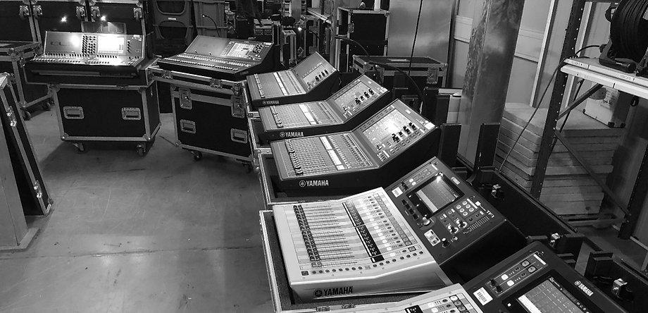 Yamaha Sound Desk Hire