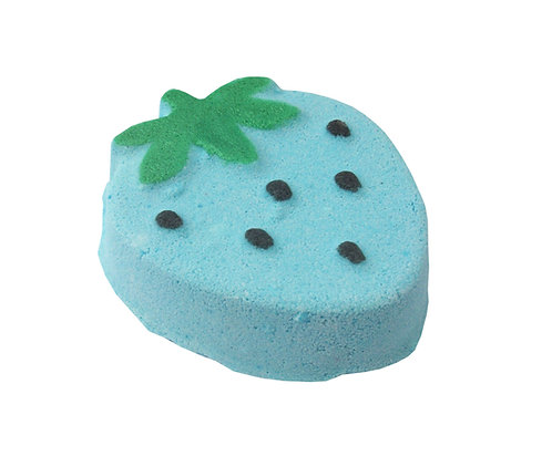 Blue Strawberry Bath Fizzer