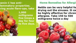 Home Remedies Allergies