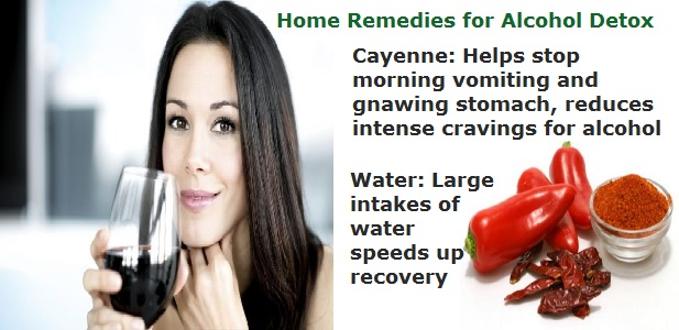 Home Remedies Alcohol Detox
