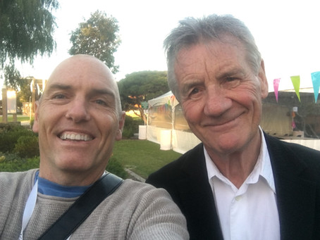 The day I wrote a poem about Michael Palin