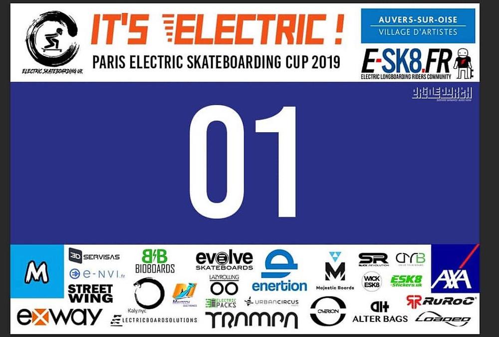 It's Electric. Paris Electric Skateboarding Cup 2019