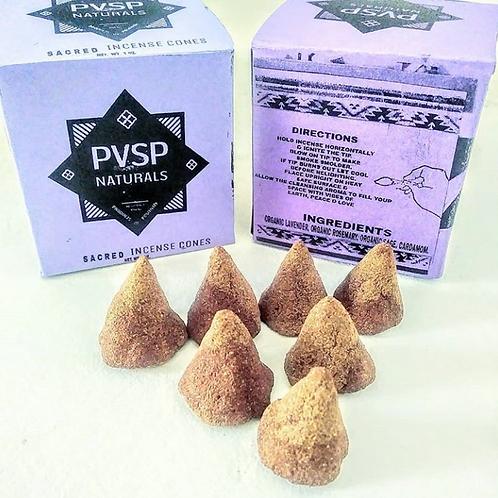 PVSP Naturals Sacred Incense Cones