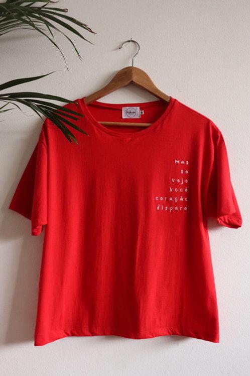 T-shirt Coração Dispara