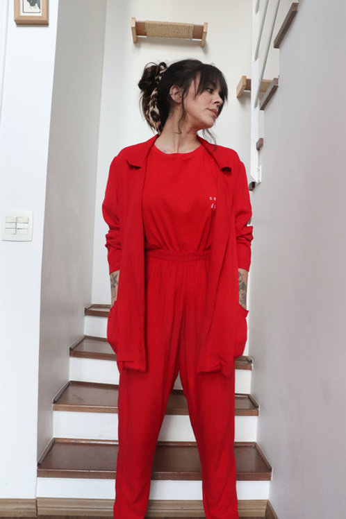 Terno Comfy Red