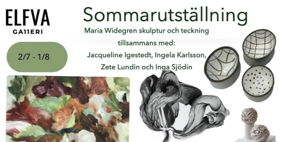 Sommarutställning med Maria Widegren