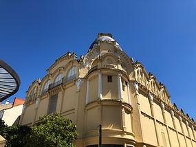 Oude bankgebouw in Vichy