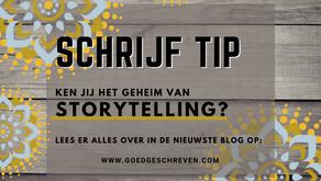 Ken jij het geheim van storytelling?