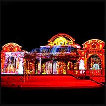 Lichtshow in Vichy