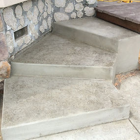 these steps are comfortable to walk up for ease and safty.