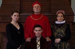 "As Cardinal Wolsey in ""King Henry VIII"""