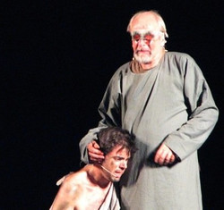 "as Gloucester in ""King Lear"""