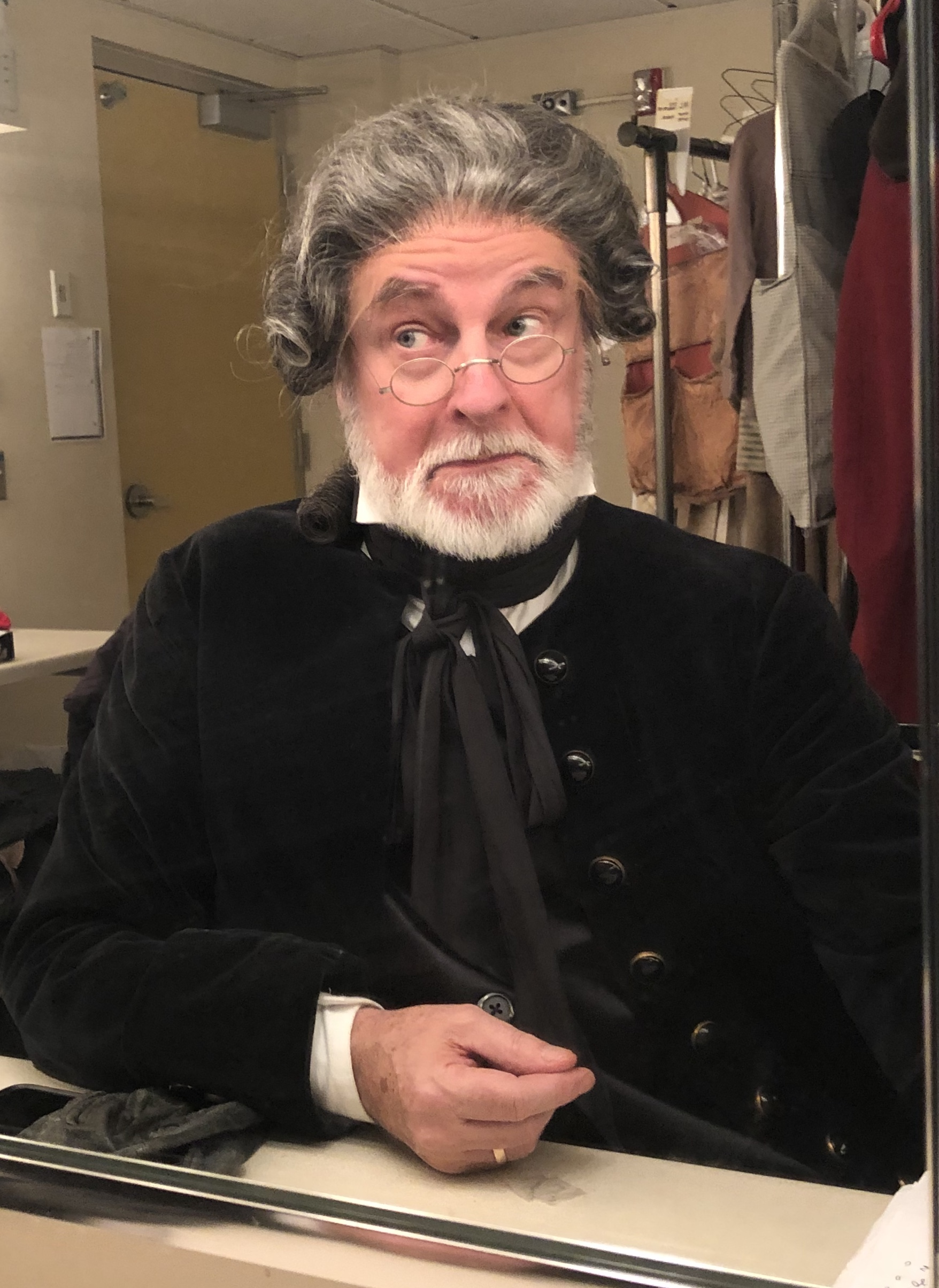 "The Schoolmaster ""A Christmas Carol"" Han"