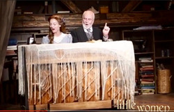 "As Mr Lawrence in ""Little Women"" at the New London Barn"