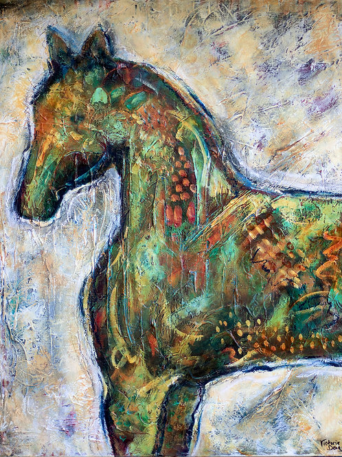 Spotted Pony Fine Art Print