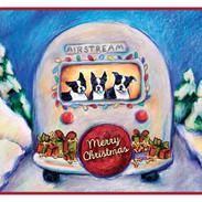 Airstream Christmas Card