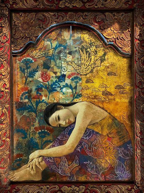 Bali Lady   Fine Art Print