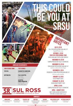 Sul Ross State University  Recruitment Poster