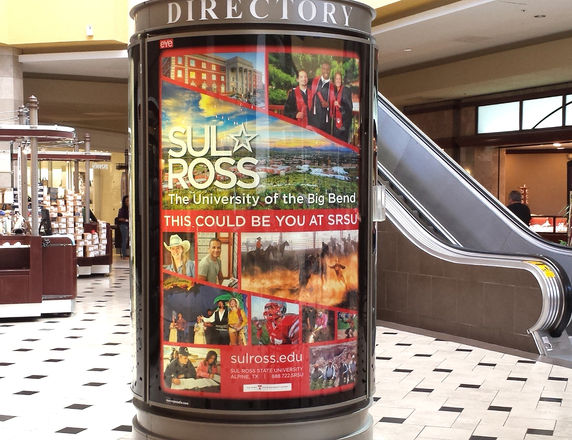 Sul Ross State University Mall Poster