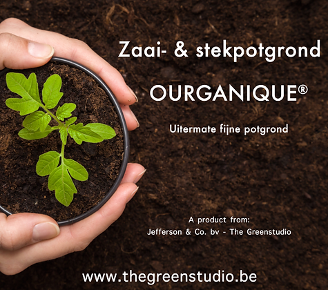 OURGANIQUE - Zaai- & stek potgrond
