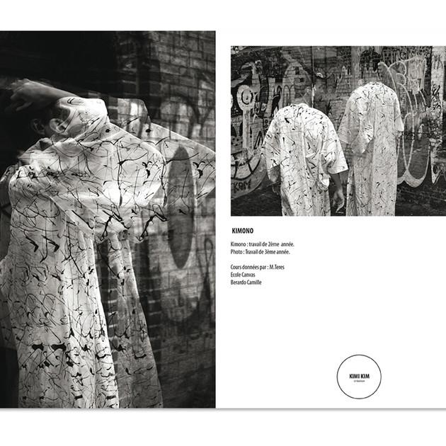 Photo and kimono by Camille Berardo