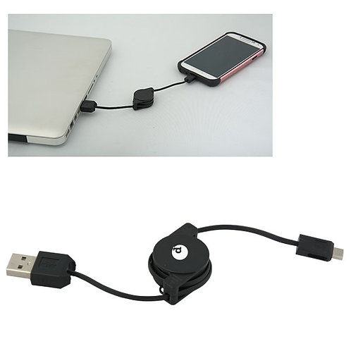 SYNCSTER RETRACTABLE USB DATA CABLE