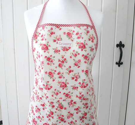 Personalised Oilcloth Apron