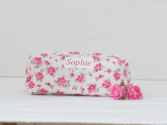 Candy Print Wipe Clean Cosmetic Bag