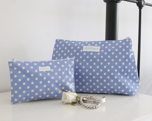 Wipe Clean Washbag and Jewellery Pouch