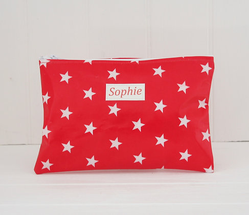 Star Wipe Clean Cosmetic Bag