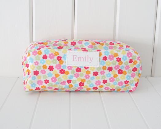 Wipe Clean Personalised Pencil Case