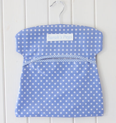 Personalised Oilcloth Peg Bag