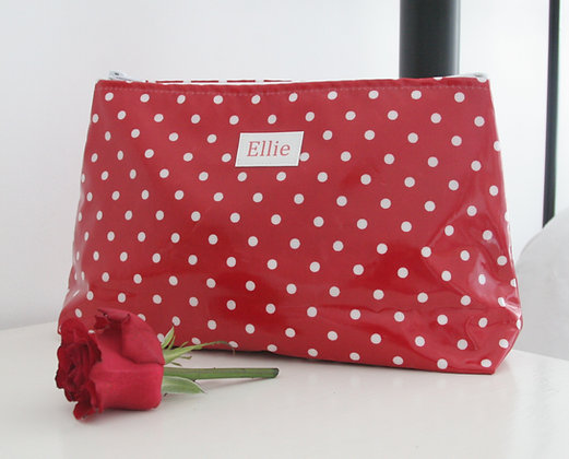 Wipe Clean Large Cosmetic/Wash Bag