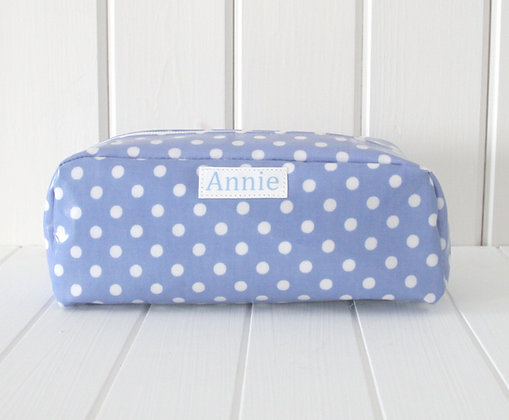 Spot Wipeclean Oilcloth Pencil Case