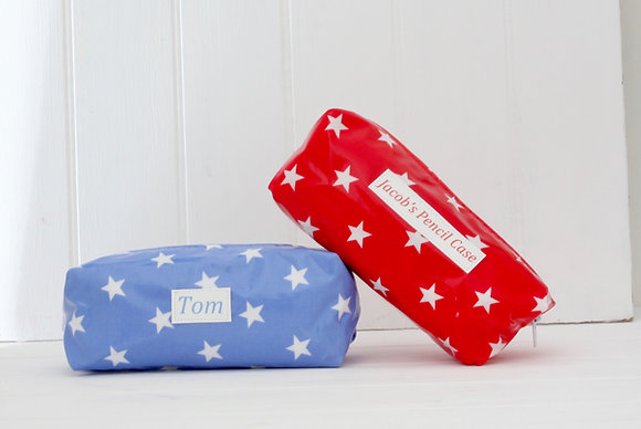 Personalised Wipe Clean Pencil Cases
