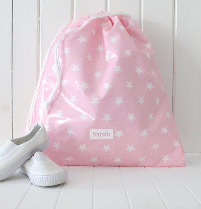 Wipe Clean Drawstring Kit Bags