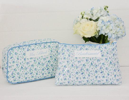 Wash Bag & Cosmetic Bag Set