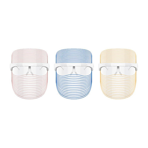 Ultra Light LED 3-Color Photon Therapy Face Mask