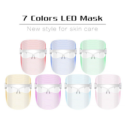 Ultra Light LED 7-Color Photon Therapy Face Mask
