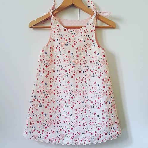 kızlar için çift taraflı yazlık elbise