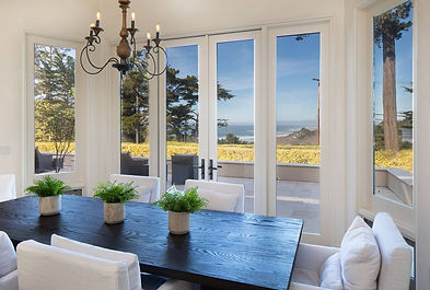 Perfectly positioned on a pristine 1.3 acre lot that's nestled amongst beautiful redwoods, Monterey Pine and Cypress trees awaits your dream home. Parts of Cypress Point Golf Club's front nine golf holes in the foreground and white-water waves rolling into Pebble's famed coastline in the background provides a stunning viewshed for you to enjoy sunsets, whales passing by or golfers embarking on a once-in-a-lifetime round at the revered Cypress Point Club. Re-envisioned by Jun Silano of IDG Architects in 2017, this turn-key home has all of the amenities one could ask for: smart home integrated A/V system; 4 beds/4.5 baths on single-level living with tall ceilings, open floorplan and nano-doors in the living room that lead to a beautiful patio for gathering around a built-in firepit.