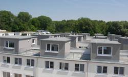 Verdichteter Flachbau  Freising Isarauenpark