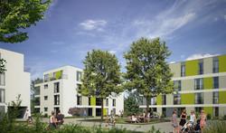 Wohnquartier Heilbronn Luise-Bronner-Straße