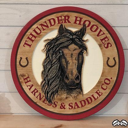 Thunder Hooves Wall Art