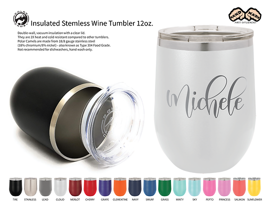 Personalized - Wine Tumbler