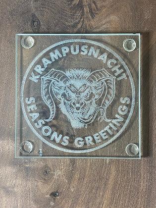 Krampus Coaster Set